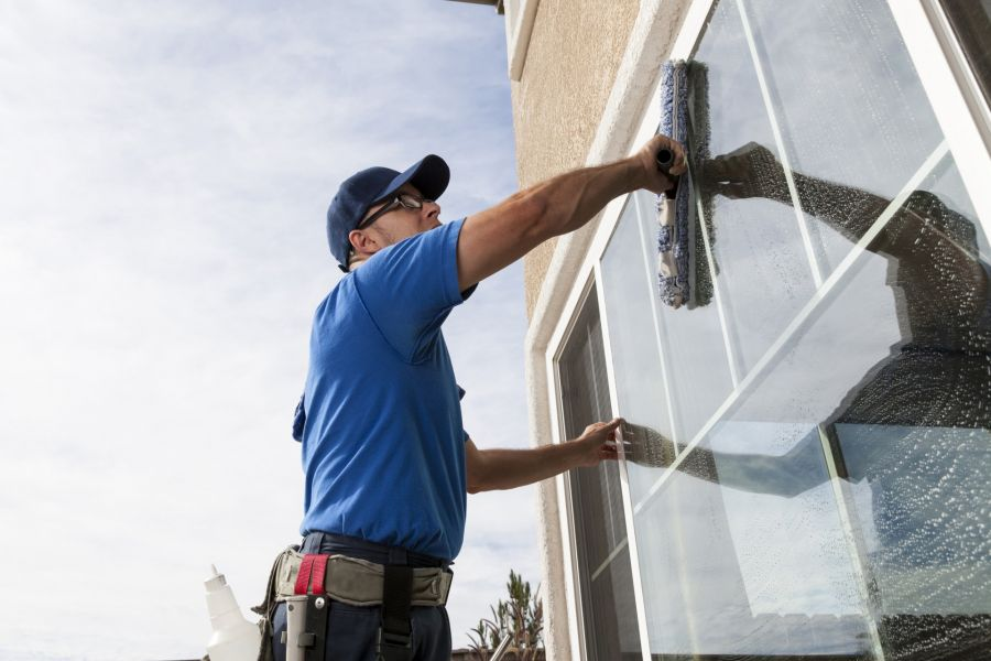 Commercial Window Cleaning by GCS Global Cleaning Services LLC