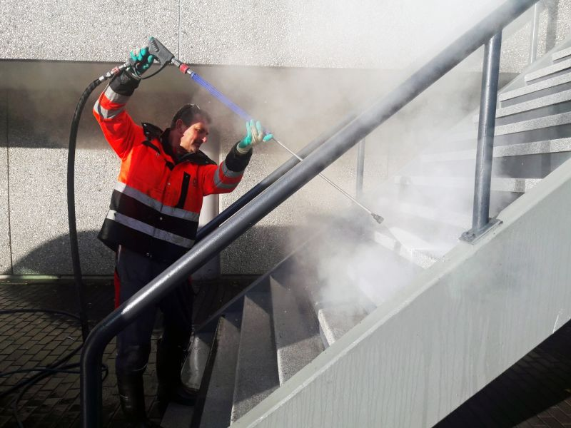 Commercial Pressure Washing by GCS Global Cleaning Services LLC