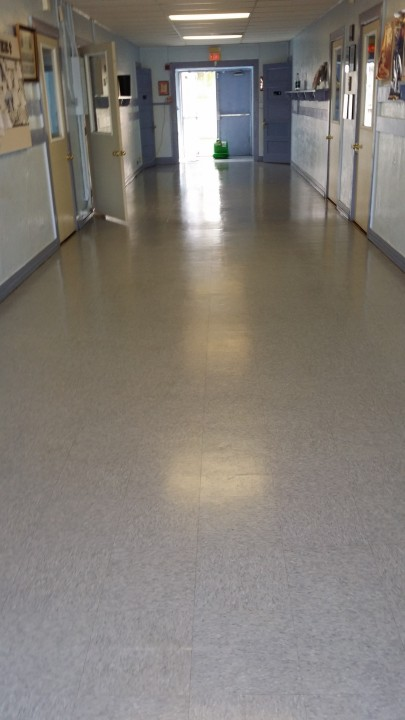GCS Global Cleaning Services LLC janitor mopping floor